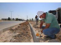 Karaman Belediyesinin çevre düzenleme çalışmaları sürüyor