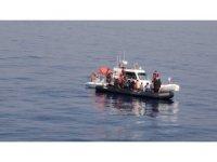 Yolcu feribotu fark etti, Sahil Güvenlik kurtardı