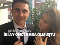 Başkanlığın Twitter hesabından yapılan paylaşımda şehit astsubayın Konyalı Sinan Aktay olduğu belirtildi.