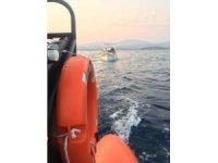Sürüklenen teknedeki 5 kişi kurtarıldı