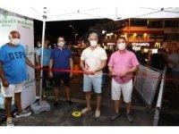Marmaris'te yöresel ürünler pazarı açıldı