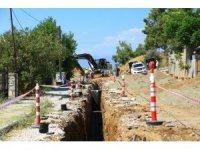 Hisarönü-Ovacık kanalizasyon hat çalışmaları devam ediyor