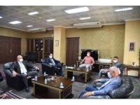Manisa Büyükşehir'den Soma Belediyesine ziyaret