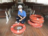 Şehir Hatlarında 5 kadın gemici iş başı yaptı