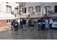 Kaymakam Şahin'den filyasyon ekibine başarı belgesi