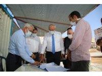 Kahtalı ve Güder, Battalgazi bölgesindeki yatırımları inceledi