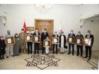 Sivas'ta Devlet Övünç Madalyası Tevcih Töreni