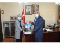 Başkan Bozkurt'tan Kaymakam Kurt'a hayırlı olsun ziyareti