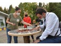 Başkan Özlü'nün elinden sıfır atık tema parkı
