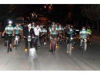 Isparta'da yüzlerce kişi aynı anda pedal çevirdi