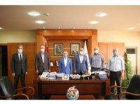 İstanbul Gençlik ve Spor İl Müdürü Hacıcaferoğlu'ndan Başkan Aydıner'e ziyaret