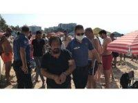Kuşadası'nda dünyaca ünlü plajda skandal olay