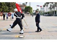 Mersin'de Gaziler Günü sade bir törenle kutlandı