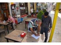 Aydın'da maske takmayan 64 kişiye 57 bin TL ceza kesildi