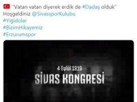 Erzurumspor ile Sivasspor arasında dostluk rüzgarları