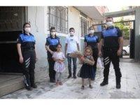 Toplum Destekli Polislerden gazi bekçiye anlamlı ziyaret