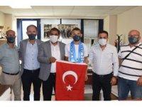 İzmit Belediyesporlu güreşçiye Milli Takım'dan davet