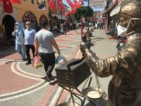 Bartın'da 13 kişiye maske cezası