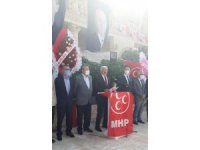 MHP Mardin Artuklu'da 51 yıl sonra ilk kongre gerçekleştirildi