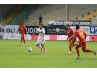 Süper Lig: Aytemiz Alanyaspor: 1 - Hes Kablo Kayserispor: 0 (İlk yarı)