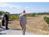 Köylü 'Yeni Sanayi Sitesi'ne karşı arazilerine sahip çıktı