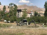 Hakkari Golazüryana ilk kazma vuruldu
