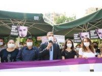 Baro Başkanı Yeşilboğaz, Feray Şahin'in anma etkinliğine katıldı