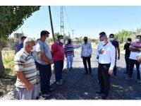 Başkan Çınar,  yol yenileme çalışmalarını inceledi