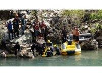 """Tunceli Valiliği: """"Kayıp 2 vatandaşımızdan 1'inin cansız bedenine suyun 1,5 metre altında ulaşıldı"""""""