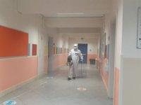 Çekmeköy Belediyesi'nden okullarda temizlik ve dezenfekte çalışması
