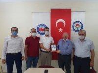 Osmancık'ta Eğitim-Bir-Sen'de görev değişimi