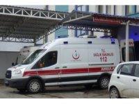 ATV'nin devrilmesi ile altında kalan sürücü ağır yaralandı