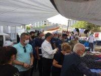 Korona denetimlerinde 5 pazarcıya ceza