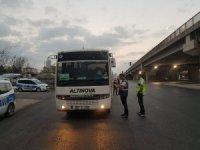 Kocaeli'de korsan taşımacılık yapan araçlara ceza yağdı