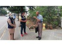Kartepe Belediyesi'nden gazilere anlamlı ziyaret