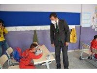 Sarıkamış'ta öğrenciler öğretmenleriyle buluştu
