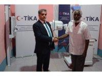 TİKA'dan Somali'deki devlet hastanesine ekipman desteği