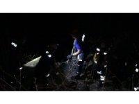 Alkollü şahıs 10 metreden kayalıklara düştü