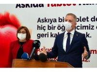 Gaziantep'te Askıda Tablet kampanyası