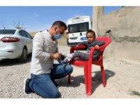 Van Büyükşehir Belediyesinden özel miniklere medikal desteği