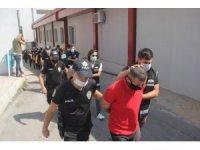 Adana'da suç örgütüne 13 tutuklama