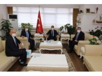 Kassanov, Sinop Valisi Karaömeroğlu ile görüştü