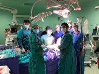Tek akciğeri olan hastaya başarılı bypass ameliyatı yapıldı