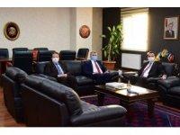 Milletvekili Canbey ve Başkan Orkan ziyaretlerde bulundular