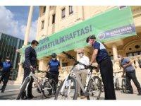 Büyükçekmece'de belediye personeline bisiklete binme zorunluluğu