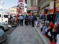 Erciş Belediyesinden kaldırım işgali denetimi