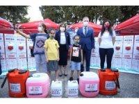 Güvenli okul projesi kapsamında 500 okula hijyen malzemesi