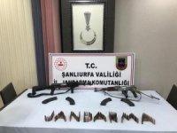 Viranşehir'de 2 adet uzun namlulu silah ele geçirildi
