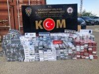 Gaziantep'te 4 bin 540 paket kaçak sigara ele geçirildi