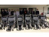 KTÜ Tıp Fakültesi Farabi Hastanesi'ne hayırsever işadamından 30 adet tekerlekli sandalye  bağışı